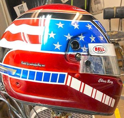 race helmet bell chris 1