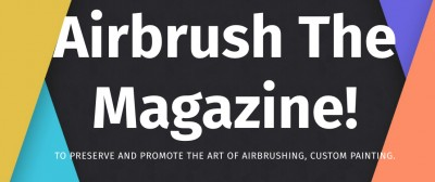 airbrush the magazine