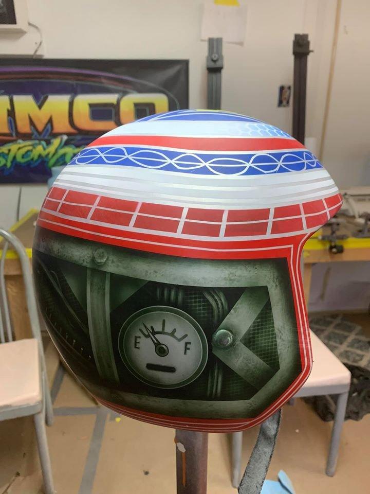helmet painting workshop 1